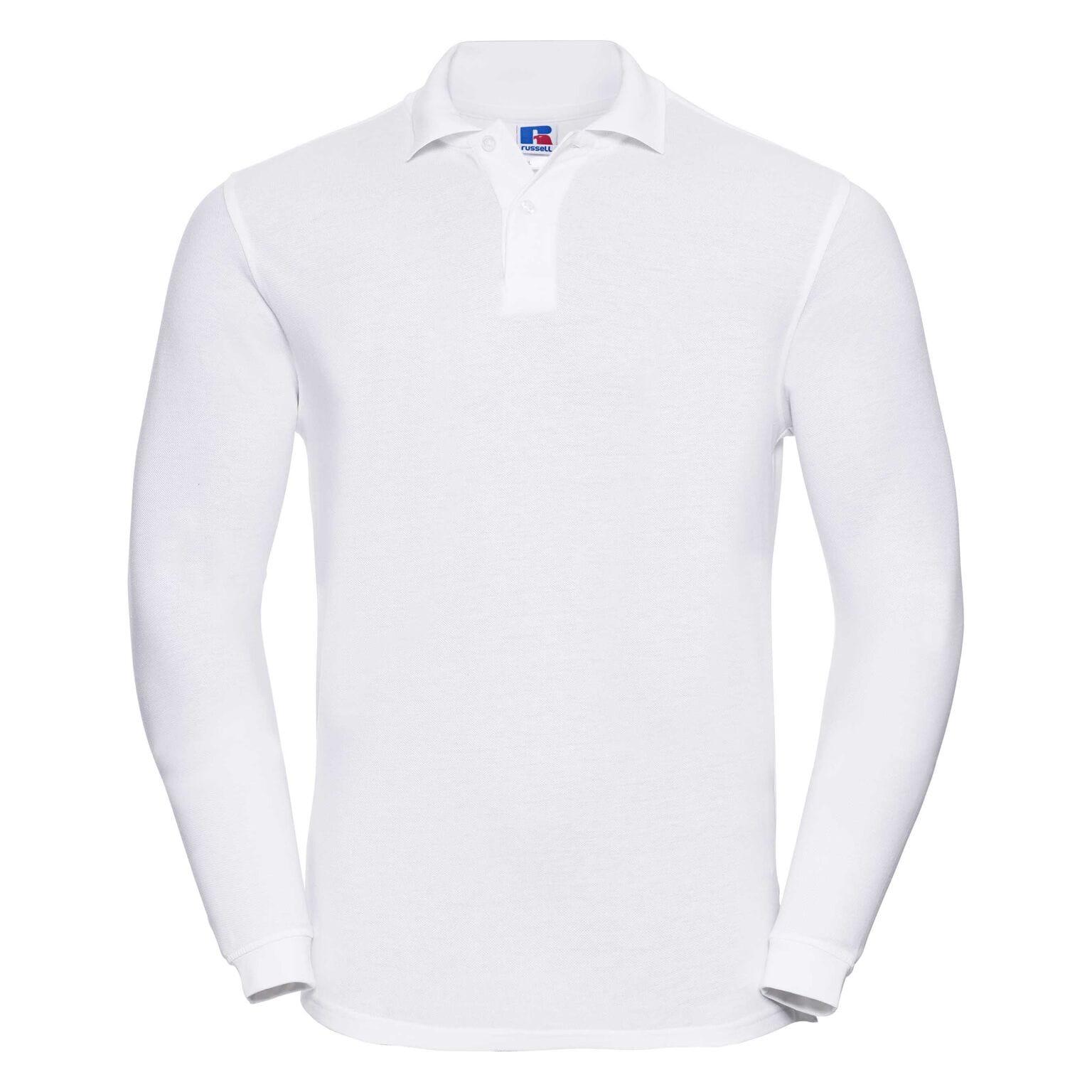 Męska koszulka Polo z długim rękawem R569L   Russell